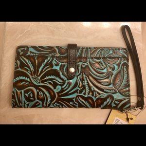 Patricia Nash NWT. Large wallet.